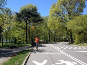 Circuito no Central Park com 10km