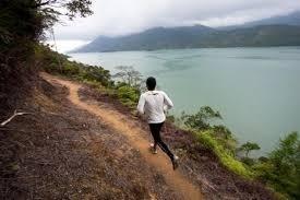 correr contra o relógio é tão bom quanto na montanha ou na praia