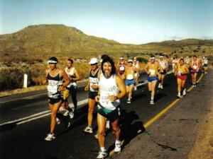 Na Dois Oceanos, na Cidade do Cabo, primeiro 56K do Rodolfo