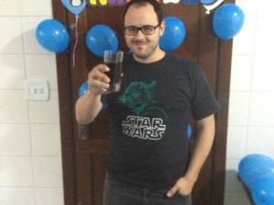 Tiago Souza, jornalista que corre para reduzir o peso
