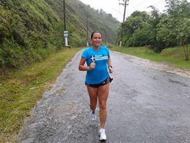 Anna Paula Lima, editora do portal O2porminuto, para quem a corrida lhe ajuda em tudo