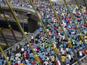 Antes da maratona de sao paulo, treino leve ou pesado?