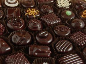 chocolate traz felicidade, literalmente