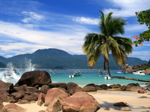 praia aventureiro em Ilha Grande