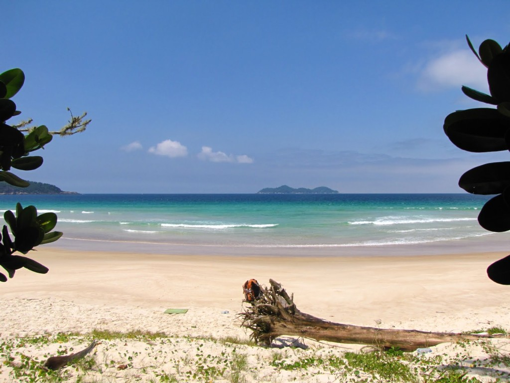 Praia Lopes Mendes em Ilha Grande