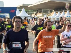 Paulo Vieira, do Jornalistas que Correm e Gesu Bambino na New Balance 15K