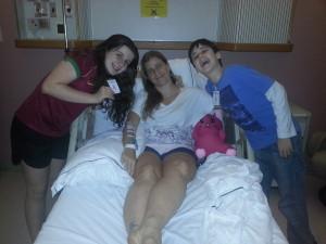 Tatiana Ferraz se recupera da queda