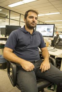 Designer Fabio Paiva, novo colaborador do Jornalistas que Correm