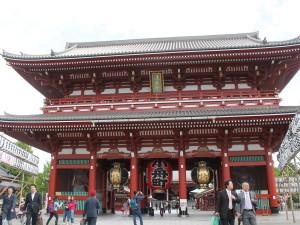 O templo de Akasuka, em Tóquio