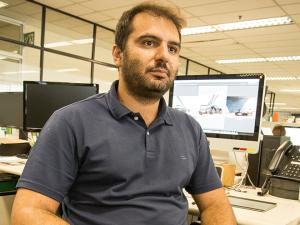 Fabio Paiva, designer da Quatro Rodas, quer melhorar a forma física junto com o Jornalistas que Correm