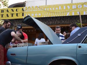 Dia de festa na Barão de Tatuí/Foto: George Leoni