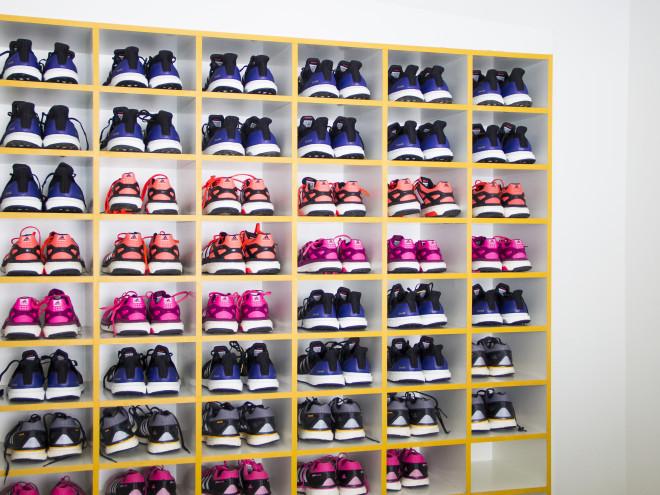 Adidas para colocar nos pés