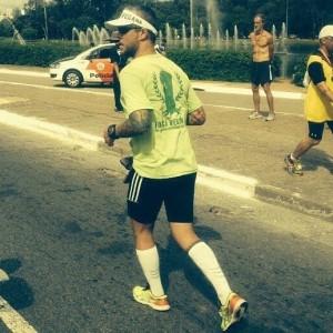 Franz na reta final da Maratona de São Paulo deste ano