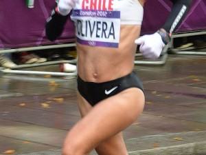 Erika na Olimpíada de Londres/Foto: Miho/Wiki Commons