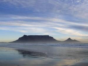 Table Mountain, a grande atração de Capetown