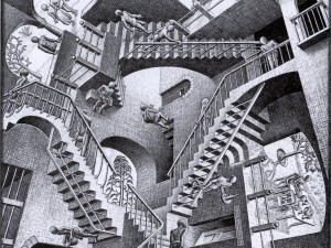 Em busca do Santo High/Reprodução M C Escher