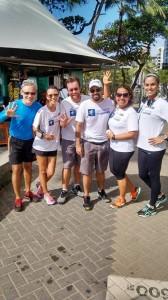 Parceiros da endorfina no treino JQC do Recife