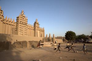 A bola rola no Mali, na África