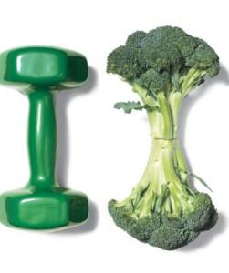Bíceps ou brócolis, eis a questão