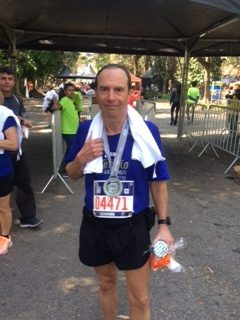 "Ricardo trocou a esgrima pela corrida e correu ""para"" 5:44"