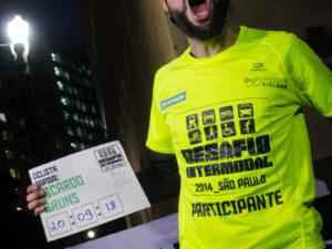 Ricardo Bruns, que ganhou de bike o último desafio/Foto: Antonio Miotto