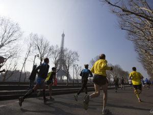Donc, uma maratona duríssima