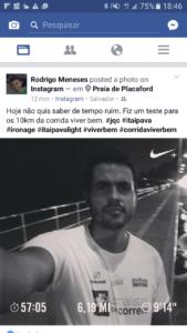 Rodrigo dobrou a aposta este ano