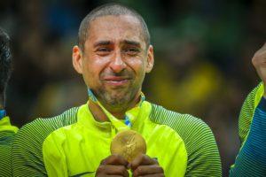 Com o segundo ouro olímpico/Foto: Danilo Borges/Brasil2016.gov.br