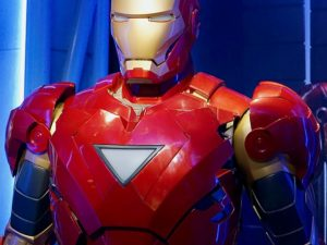 Film Iron Strong Ironman Robot One Metal Suit