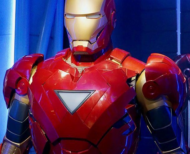 Film Iron Strong Ironman Robot One Metal Suit