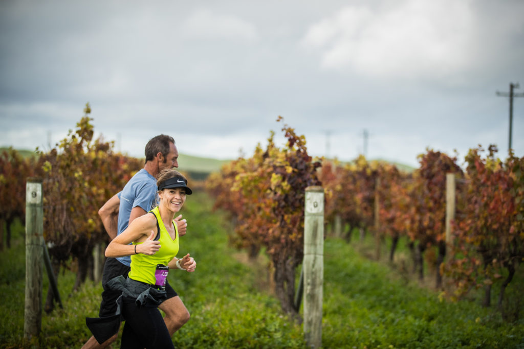 No meio do sauvignon blanc (ou seria do shiraz?)/Foto: Tim Bardsley-Smith/Hawke's Bay Marathon