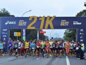 A largada da Golden Run, em São Paulo/Foto: Asics