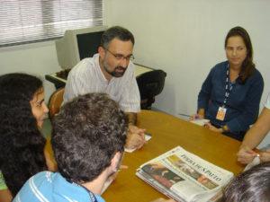 O professor nos tempos dos Campos Elíseos/Foto: Agência Folha