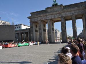 O portão na maratona de 2011/Foto: Amy Ewen/Wiki Commons